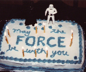 star wars and cake image