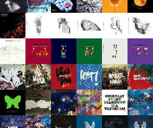 albums and coldplay image