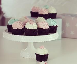 cupcake, pink, and pastel image