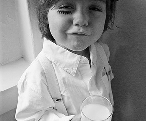 clockwork orange, milk, and kids image
