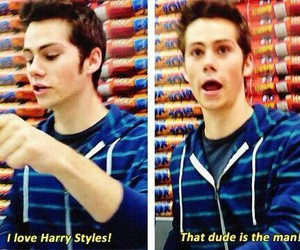 adorable, dylan, and funny image