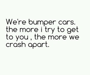 bumper cars, go listen to them, and alex && sierra image