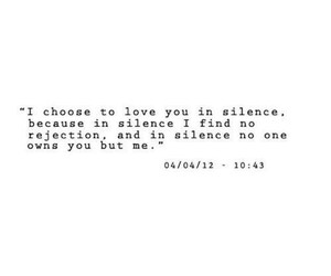 quotes, unrequited, and love image