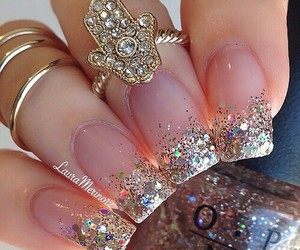 amazing, gold, and nails image