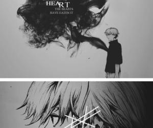anime, boy, and heart image