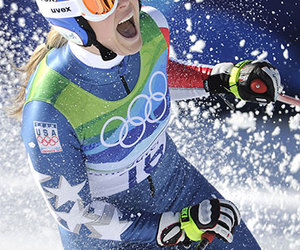 gold, Winter Olympics, and lindsey vonn image