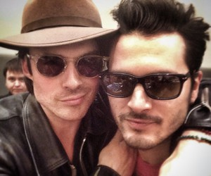 tvd, ian somerhalder, and enzo image