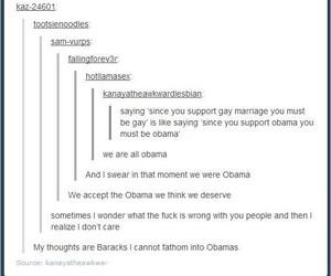 barack obama, funny, and lol image