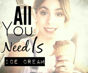 helado, ice crean, and all you need is image