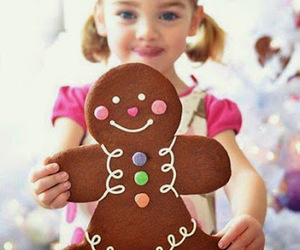 cute, cookie, and christmas image