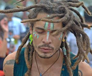 dreads, gorgeous, and guy image
