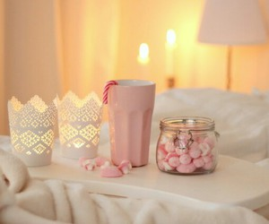 candle, candy, and chocolate image