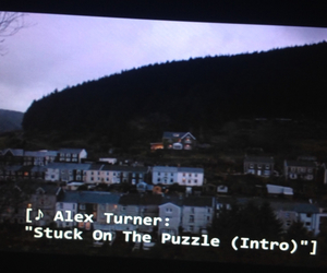 alex turner, grunge, and movie image