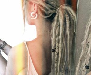 dreads, hair, and dreadlocks image