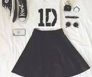 outfit, 1d, and one direction image