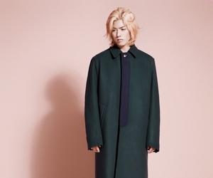 coat, vogue girl, and kangnam image