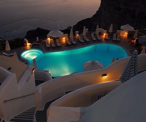 Greece, pool, and travel image