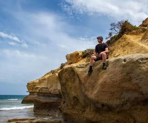 beach, melbourne, and janoskians image