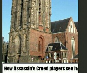 assassins, Assassins Creed, and buildings image