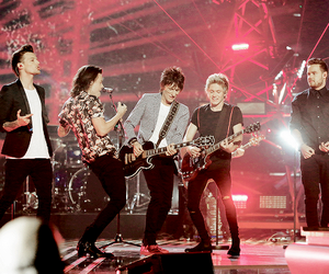 one direction, ronnie wood, and liam payne image
