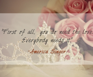 america, flower, and quote image
