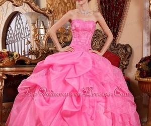rose pink, 2015, and quinceanera dress image