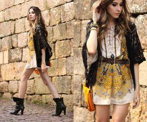 boots, jacket, and fashion style image
