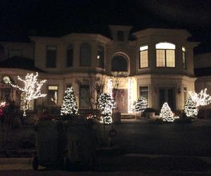beautiful, christmas lights, and light image