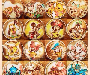 cafe, coffe, and disney image