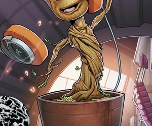 Marvel, guardians of the galaxy, and the groot image