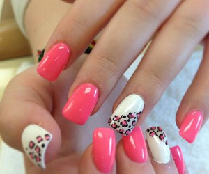 leopard and nailart image
