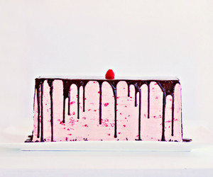 food, pastel, and cake image