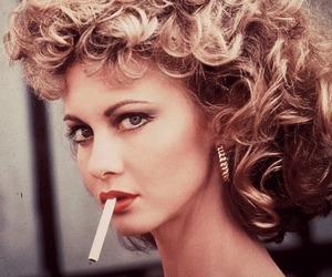 grease, Sandy, and smoke image