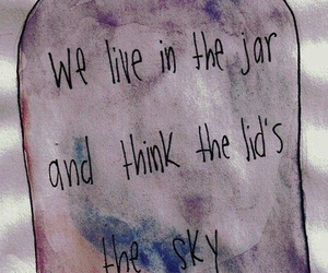 quotes, sky, and jar image