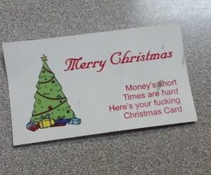 christmas, funny, and text image