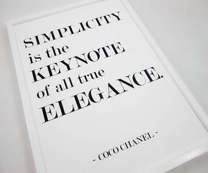 quotes, elegance, and chanel image