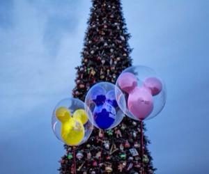 christmas, disney, and tree image