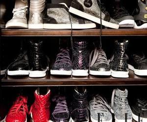 shoes, closet, and sneakers image