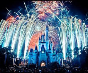 disney and fireworks image