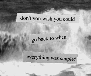 quote, simple, and wish image