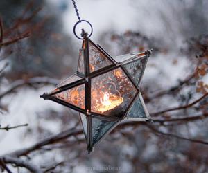stars, winter, and light image