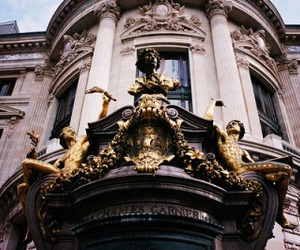 architecture, building, and gold image