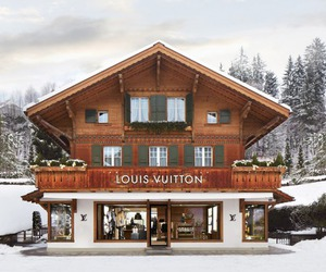 Louis Vuitton, winter, and snow image