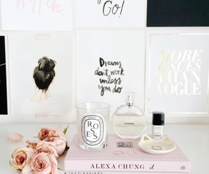 candle, luxury, and roses image