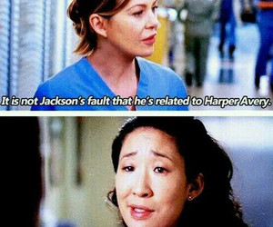 grey's anatomy, cristina yang, and meredith grey image