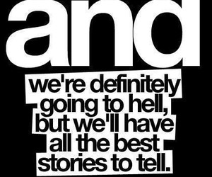 hell, quote, and story image