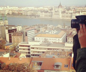 budapest, city, and spring image