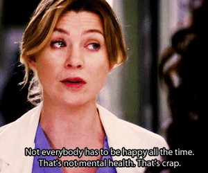 grey's anatomy, quote, and happy image
