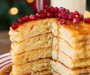 maple syrup, nutmeg, and pancake image