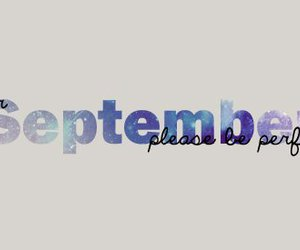 September and perfect image
